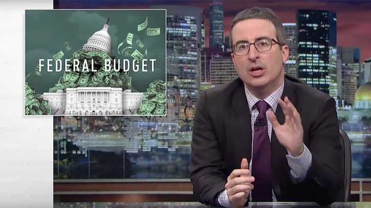 Watch John Oliver Compare Trump Budget Cuts to America's 'End Credits'