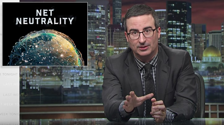 Watch John Oliver Defend 'Go FCC Yourself' Net Neutrality Movement