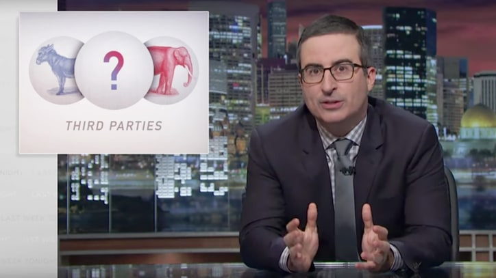 Watch John Oliver Expose Third Party Platforms' Huge Problems