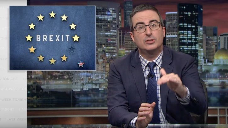 Watch John Oliver Nominate Lord Buckethead For Brexit Negotiator