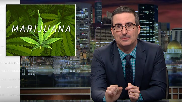 Watch John Oliver on Insanely Inconsistent U.S. Marijuana Laws