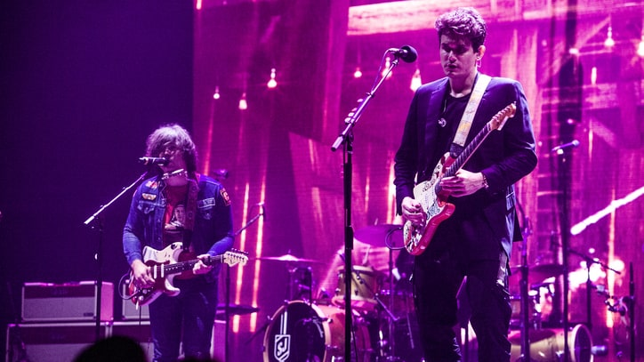See John Mayer, Ryan Adams Perform 'Come Pick Me Up' in Los Angeles
