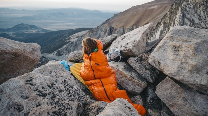 Patagonia Introduces a Sleeping Bag After 45 Years of Development