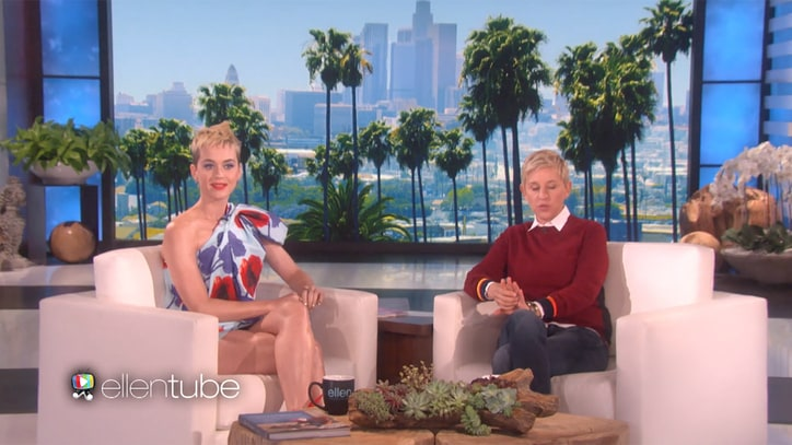 Watch Katy Perry Detail New Album, Make Ellen DeGeneres Squirm