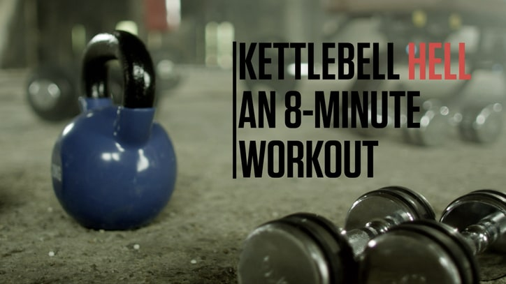 The Killer 8-Minute Kettlebell Workout