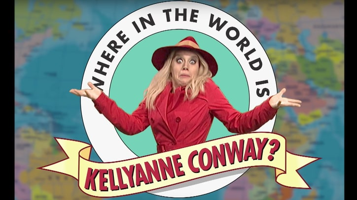 See 'SNL' Channel 'Carmen Sandiego' to Find Kellyanne Conway
