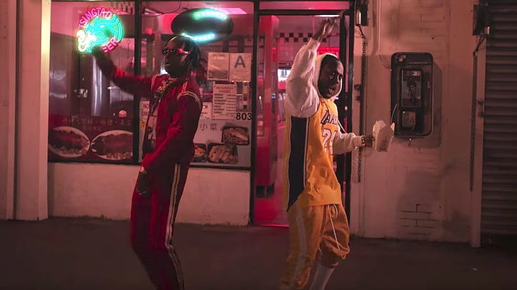 Watch Kendrick Lamar Eat Chinese Takeout in New Video With Rich the Kid