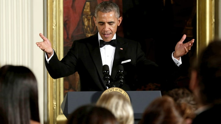 Watch President Obama Commend Eagles at Kennedy Center Honors