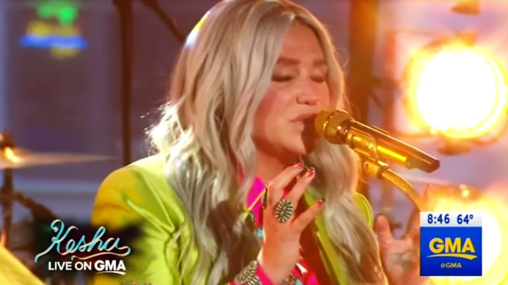 Watch Kesha Perform on 'Good Morning America,' Talk 'Life-Saving' New Album