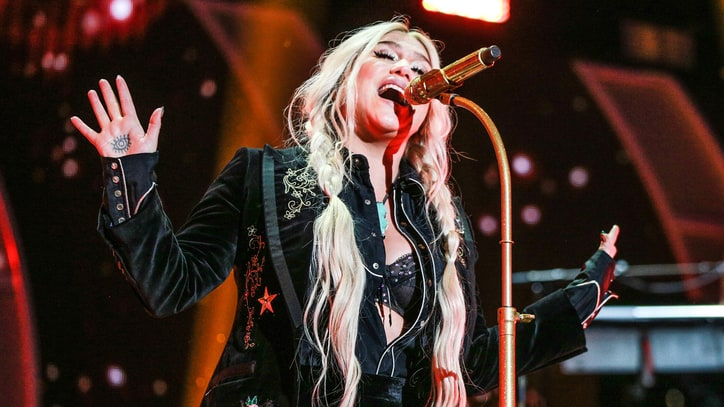 Watch Kesha's Stark Cover of Tom Petty's 'Into the Great Wide Open'