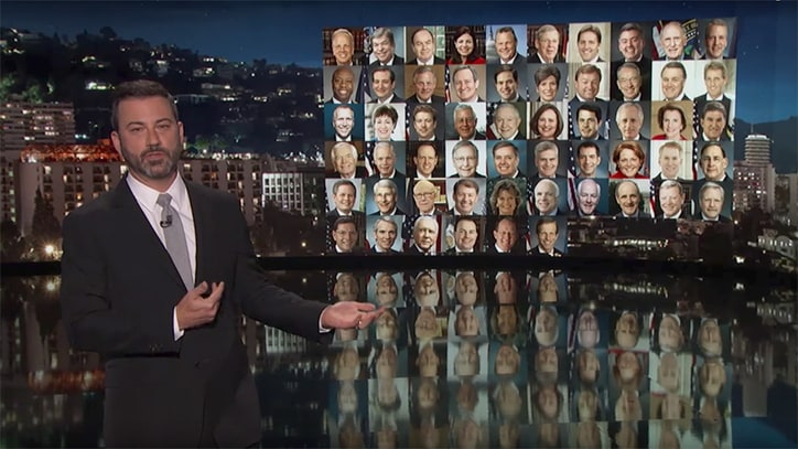Watch Late-Night Hosts Urge Congressional Action on Gun Control