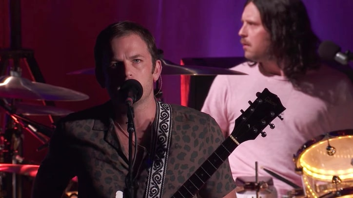 See Kings of Leon Perform Arena-Sized 'Reverend' on 'Kimmel'
