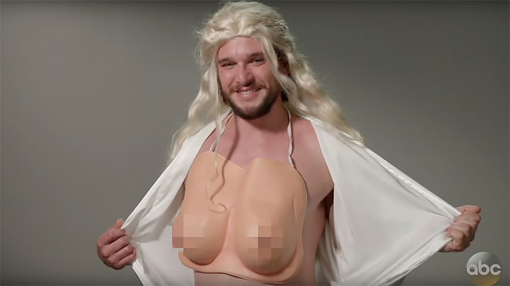 Watch Kit Harrington's Disastrous 'Game of Thrones' Audition on 'Kimmel'