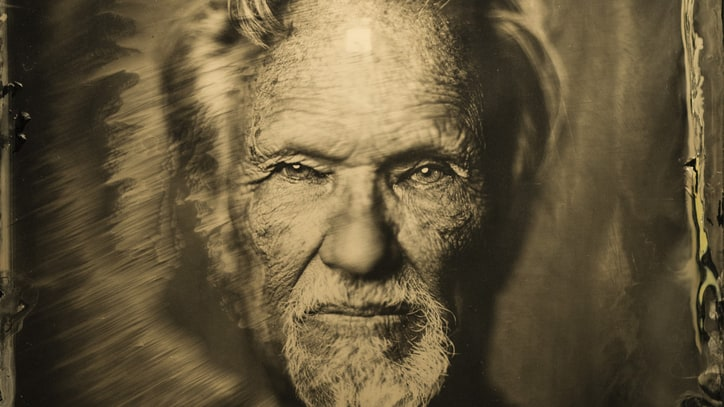 Newport Folk Fest: See 'Ambrotype' Photos of Kristofferson, Costello