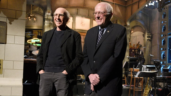 Bernie Sanders Is Related to 'SNL' Doppelganger, Larry David