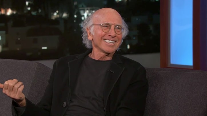 Watch Larry David Weigh Bald Vs. Old Insults on 'Kimmel'