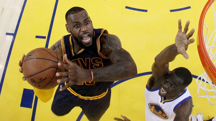 LeBron Finally Catches Michael Jordan, Signs $100 Million Deal With Cavs