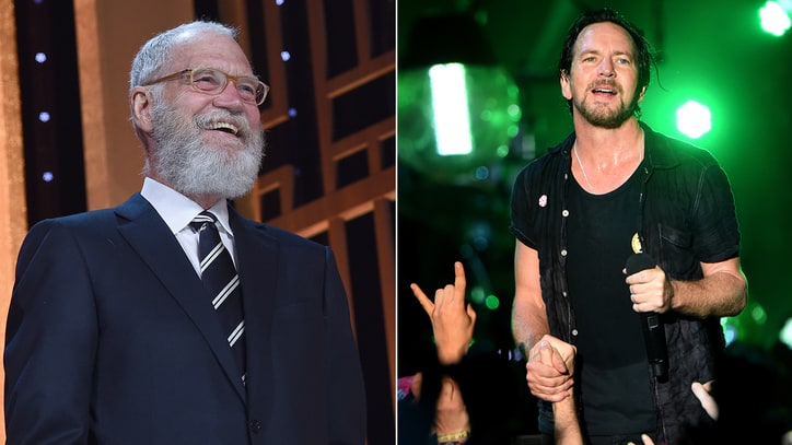 David Letterman to Replace Neil Young for Pearl Jam Rock Hall Induction