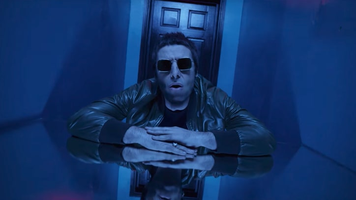 Liam Gallagher Debuts New Song 'Wall of Glass' With Dizzying Video