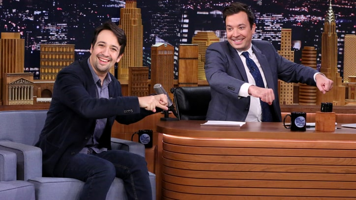 See Lin-Manuel Miranda Whip Up More Freestyles on 'Fallon'