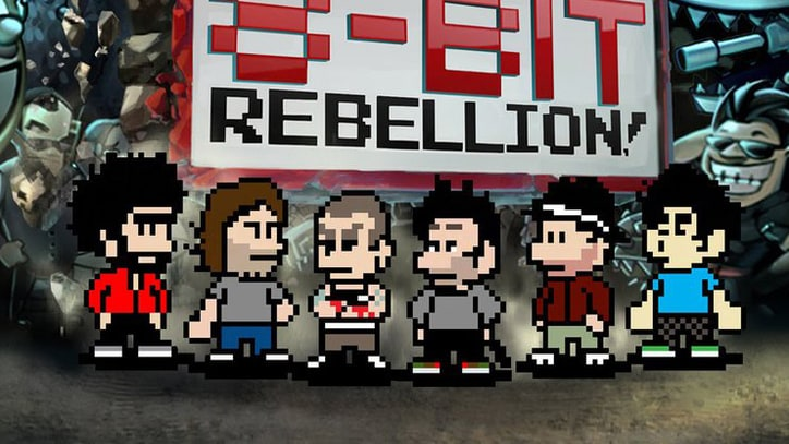 Flashback: Linkin Park Launches Mobile Game, 8-Bit Rebellion! in 2010