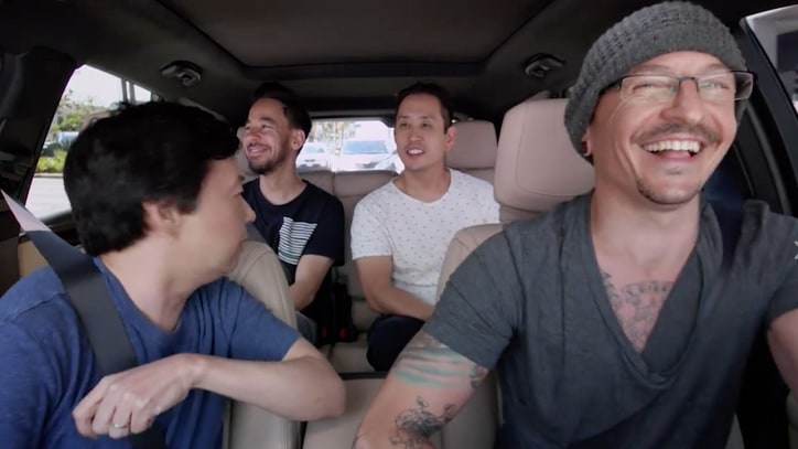 See Linkin Park's 'Carpool Karaoke,' Shot Week Before Chester Bennington's Death