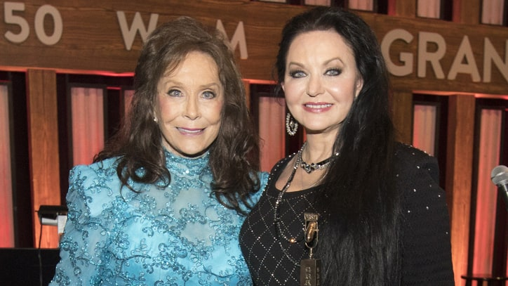See Loretta Lynn Induct Sister Crystal Gayle at the Grand Ole Opry