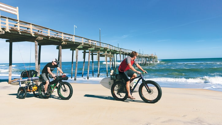 Fat Biking the Outer Banks