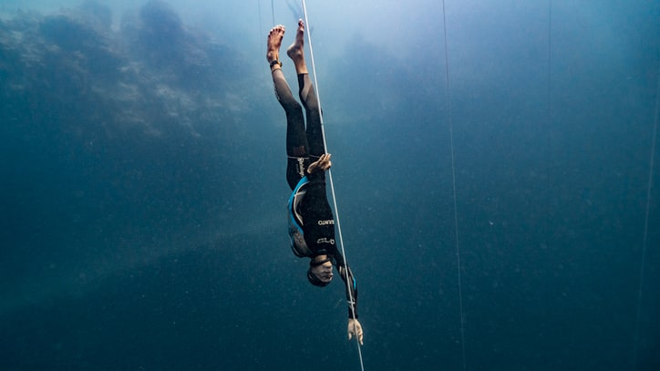 The King of Free-Diving Shatters His Own Record