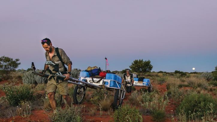 Across a Thousand Dunes: A Record-Breaking Trek Across the Simpson Desert