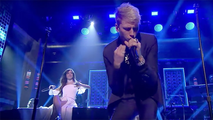 See Machine Gun Kelly, Camila Cabello's Intimate 'Bad Things' on 'Fallon'
