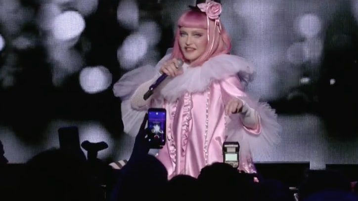 Watch Madonna's Sultry Cover of Britney Spears' 'Toxic' at Art Basel
