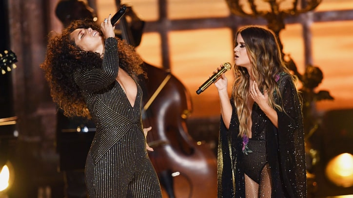 Watch Alicia Keys, Maren Morris' Fiery 'Once' at Grammys