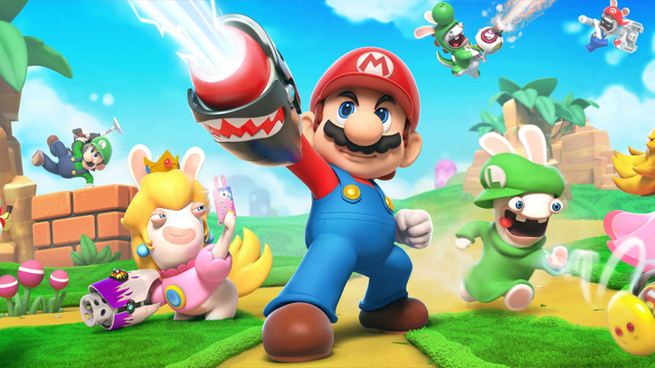 'Mario + Rabbids Kingdom Battle' Might Be the Best Bad Idea Ever