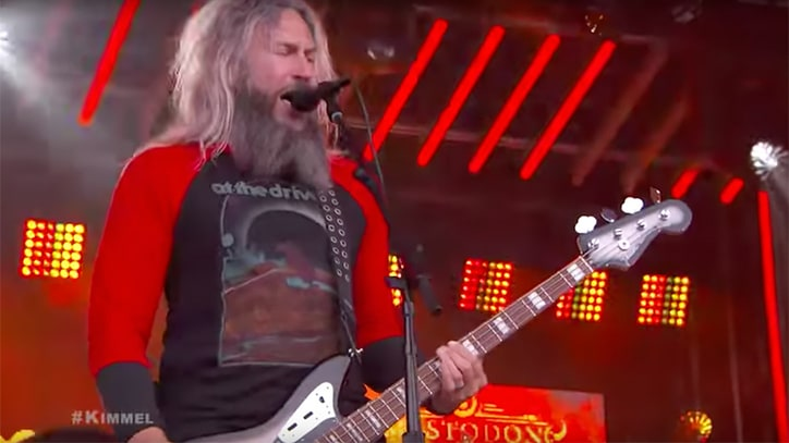 Watch Mastodon's Powerful 'Show Yourself' Performance on 'Kimmel'