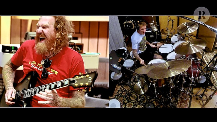 Watch Mastodon Go Behind-the-Scenes in New 'Toe to Toes' Video