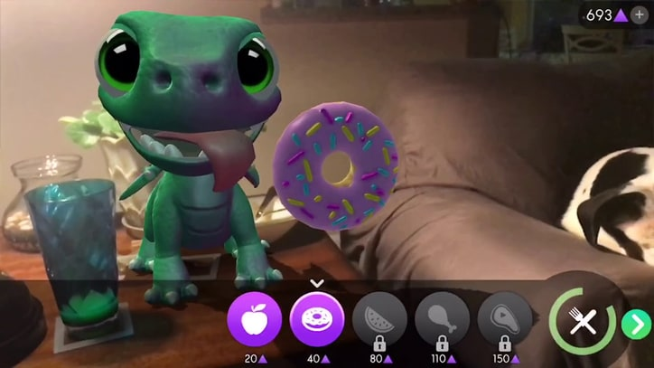 Dragons, Euclidean Puzzles and Dinosaurs: Watch iPhone's Augmented Reality in Action