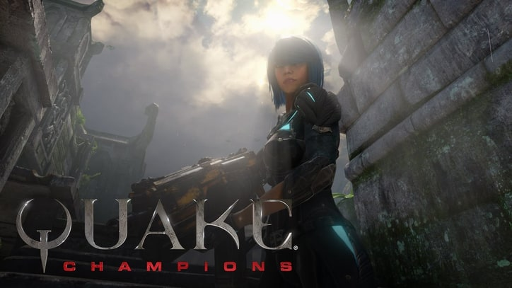 'Quake Champions' Reveals Stealthy First Champ, Nyx