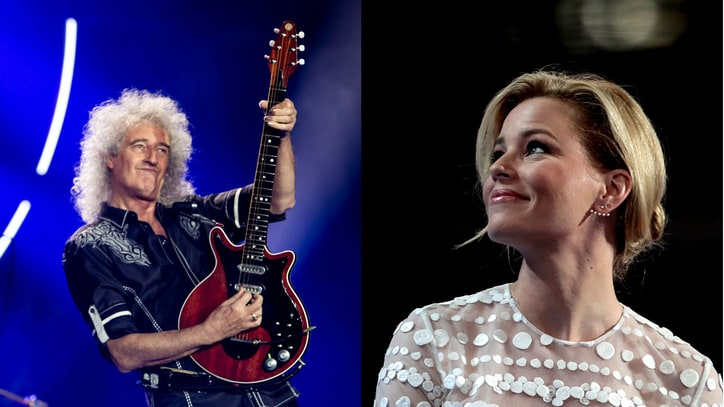 Queen's Brian May on Elizabeth Banks' DNC Entrance: 'Trump Has Been Trumped!'