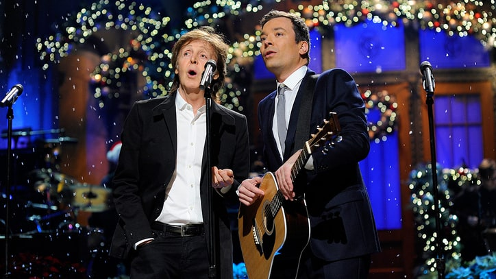 Hear Paul McCartney, Jimmy Fallon, the Roots' 'Wonderful Christmastime'