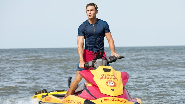 Zac Efron's Ridiculous 'Baywatch' Shoulder Workout