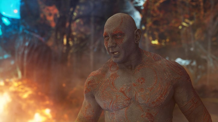 Dave Bautista's 'Guardians of the Galaxy Vol. 2' Workout
