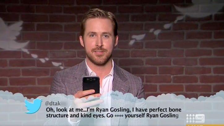 Watch Ryan Gosling, Emma Stone Read 'Mean Tweets: Oscars Edition'