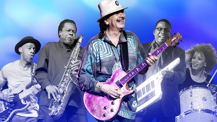 Inside Carlos Santana's New Jazz-Rock Supergroup