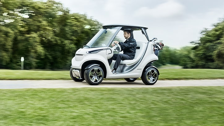 First Look: Mercedes-Benz Style Edition Garia Golf Car