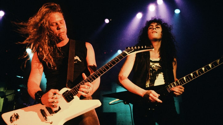 Metallica Detail Mammoth 'Master of Puppets' Reissue