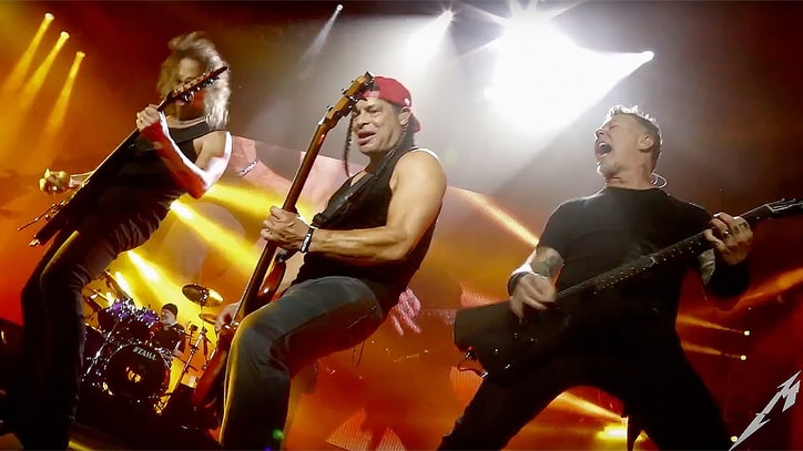 See Metallica's Ecstatic Live Concert Video for 'Lords of Summer'