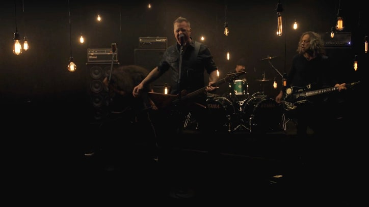 Watch Metallica Thrash in New 'Moth Into Flame' Video