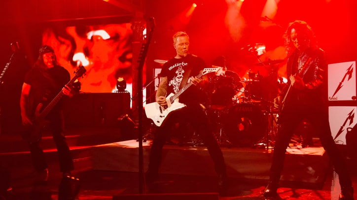 See Metallica's Vicious 'Now That We're Dead' on 'Colbert'