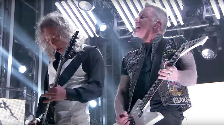 Watch Metallica Deliver Punishing 'Atlas, Rise! on 'Kimmel'